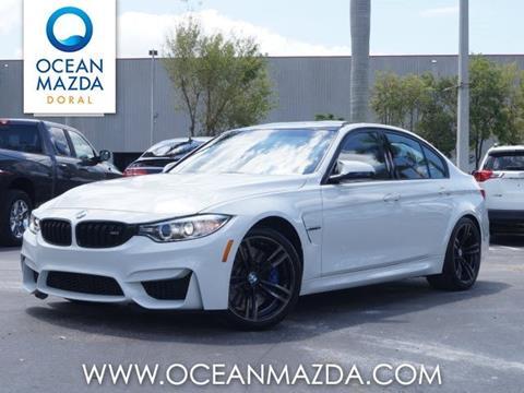 2016 BMW M3 for sale in Miami FL
