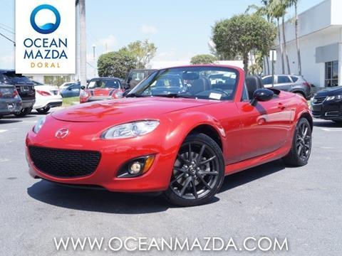 2012 Mazda MX-5 Miata for sale in Miami FL