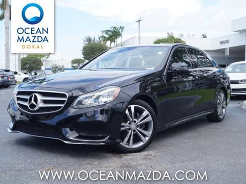 2014 Mercedes-Benz E-Class for sale in Miami FL