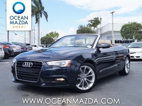 2014 Audi A5 for sale in Miami FL
