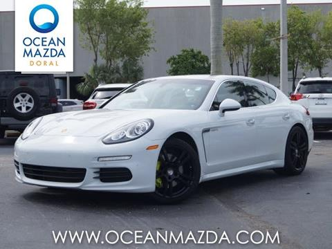 2015 Porsche Panamera for sale in Miami FL
