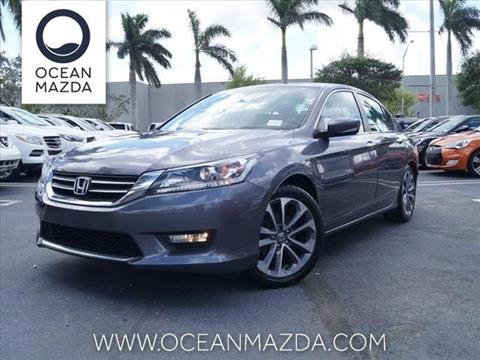 2014 Honda Accord for sale in Miami FL