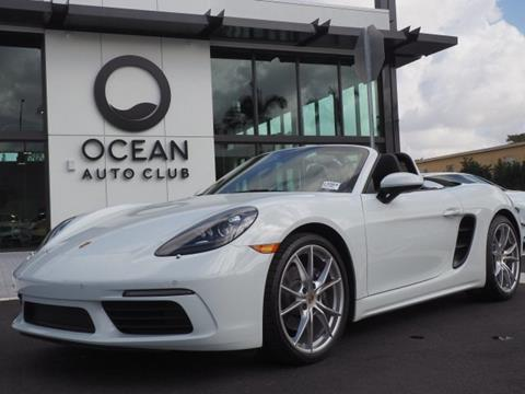 2017 Porsche 718 Boxster for sale in Miami, FL