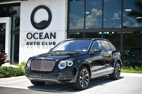 Bentley Bentayga For Sale >> 2017 Bentley Bentayga For Sale In Miami Fl