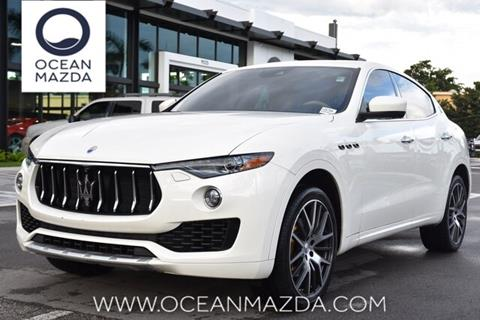 2017 Maserati Levante for sale in Miami, FL