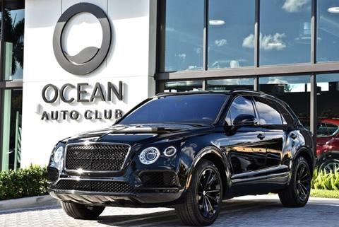 2017 Bentley Bentayga for sale in Miami, FL