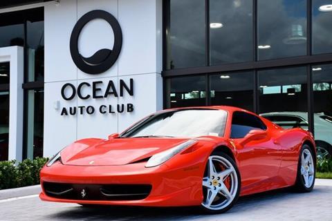 2015 Ferrari 458 Spider For Sale In Miami Fl