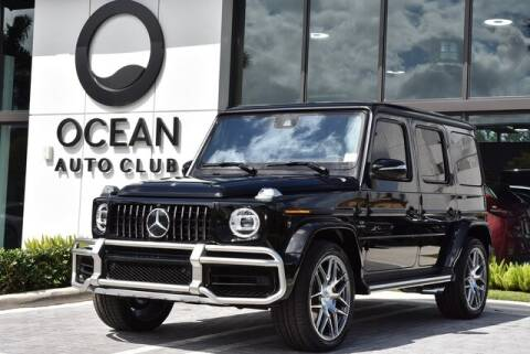 2020 Mercedes-Benz G-Class AMG G 63 for sale at OCEAN MAZDA in Miami FL