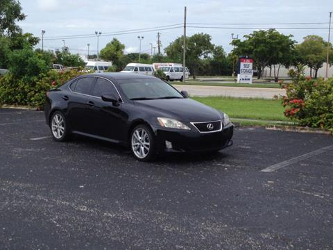 2007 Lexus IS 350 for sale in Hollywood, FL