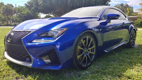 2015 Lexus RC F for sale in Hollywood, FL