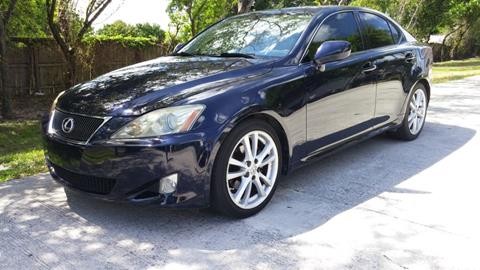 2007 Lexus IS 250 for sale in Hollywood, FL