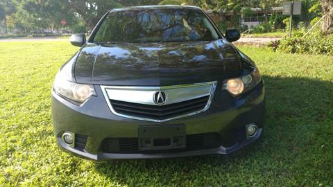 2012 Acura TSX for sale in Hollywood, FL