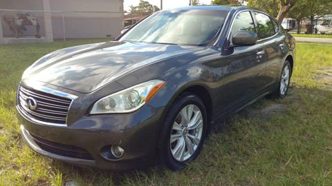 2011 Infiniti M37 for sale in Hollywood, FL