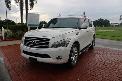 2013 Infiniti QX56 for sale in Hollywood, FL
