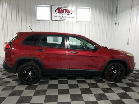 2014 Jeep Cherokee for sale in Belle Plaine, IA