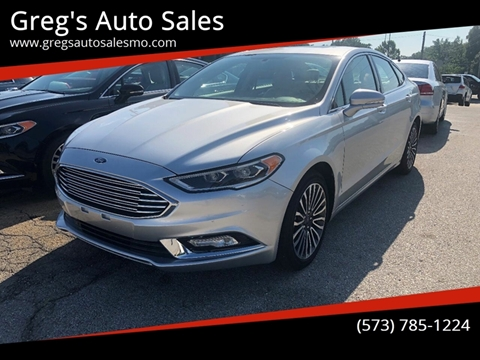 2018 Ford Fusion for sale in Poplar Bluff, MO