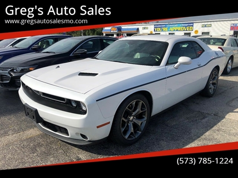 2015 Dodge Challenger for sale in Poplar Bluff, MO