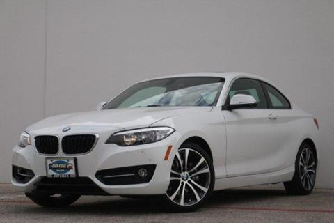 2016 BMW 2 Series for sale in Lewisville, TX