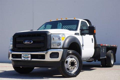 2012 Ford F-550 for sale in Lewisville, TX