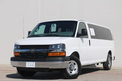 2016 Chevrolet Express Passenger for sale in Lewisville, TX