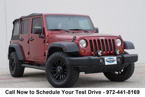 2011 Jeep Wrangler Unlimited for sale in Lewisville, TX
