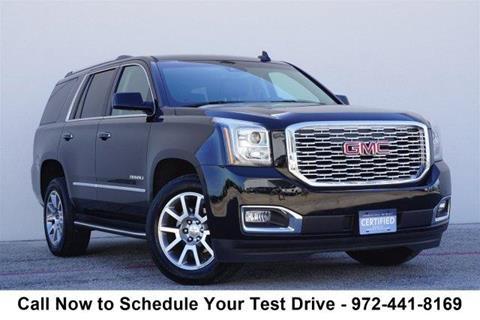 2018 GMC Yukon for sale in Lewisville, TX