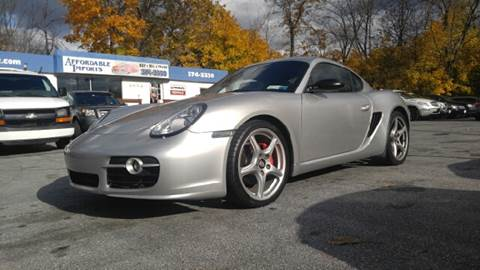 2008 Porsche Cayman for sale at AFFORDABLE IMPORTS in New Hampton NY