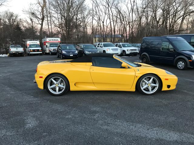2000 Ferrari 360 Spider In New Hampton Ny Affordable Imports