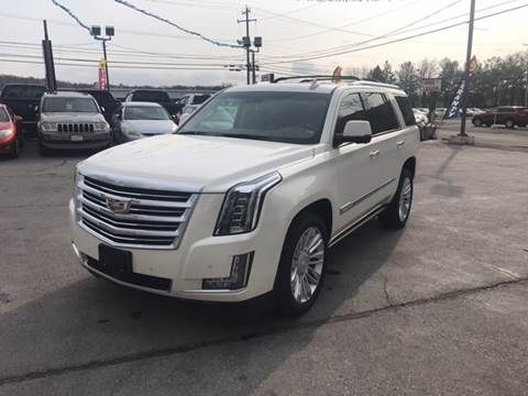 2015 Cadillac Escalade for sale at AFFORDABLE IMPORTS in New Hampton NY