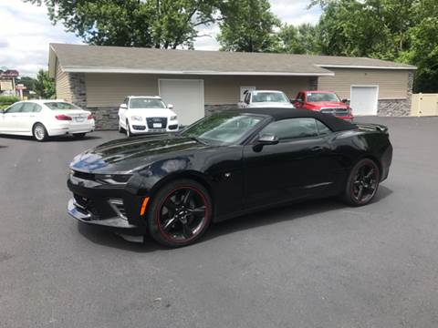 2017 Chevrolet Camaro for sale at AFFORDABLE IMPORTS in New Hampton NY