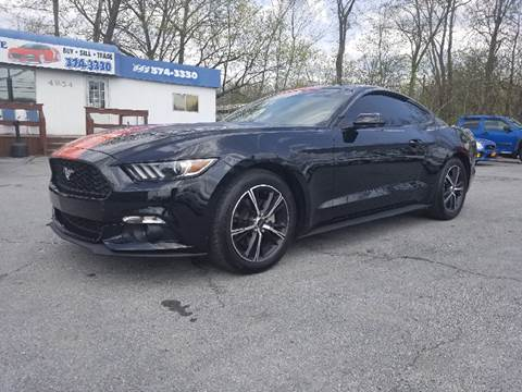 2015 Ford Mustang for sale at AFFORDABLE IMPORTS in New Hampton NY