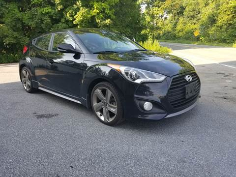 2014 Hyundai Veloster Turbo for sale at AFFORDABLE IMPORTS in New Hampton NY