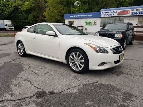 2012 Infiniti G37 Coupe for sale in New Hampton, NY