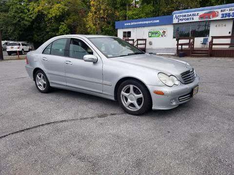 2007 Mercedes-Benz C-Class for sale at AFFORDABLE IMPORTS in New Hampton NY