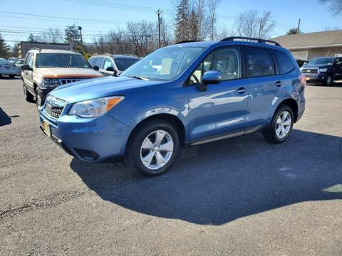 2015 Subaru Forester for sale at AFFORDABLE IMPORTS in New Hampton NY