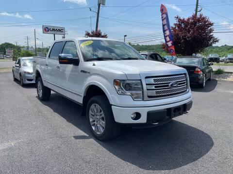 2013 Ford F-150 for sale at AFFORDABLE IMPORTS in New Hampton NY