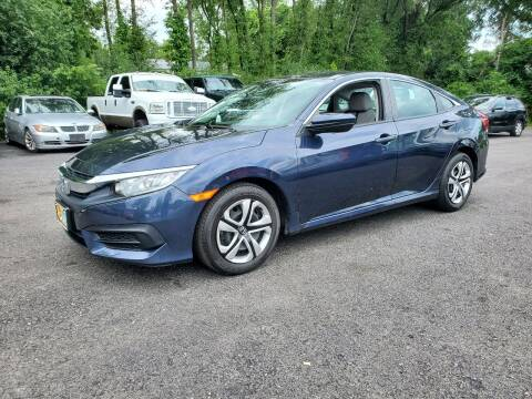 2016 Honda Civic for sale at AFFORDABLE IMPORTS in New Hampton NY