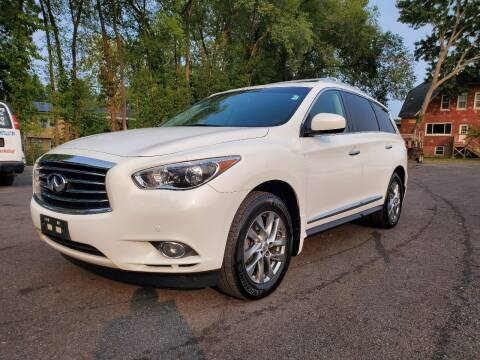 2013 Infiniti JX35 for sale at AFFORDABLE IMPORTS in New Hampton NY
