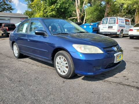 2004 Honda Civic for sale at AFFORDABLE IMPORTS in New Hampton NY