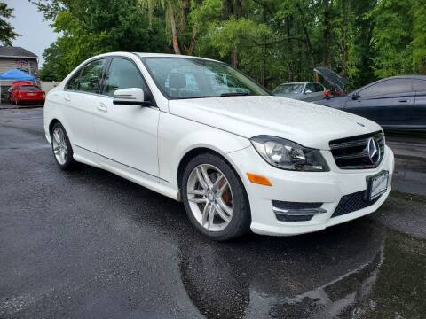 2014 Mercedes-Benz C-Class for sale at AFFORDABLE IMPORTS in New Hampton NY