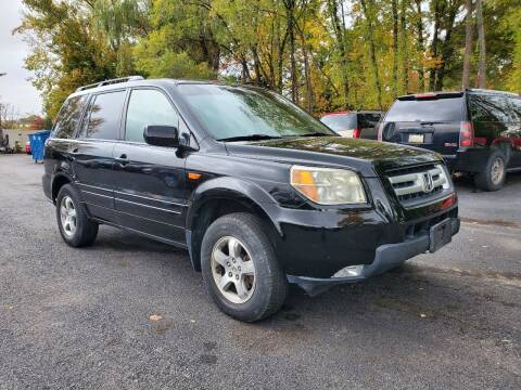 2007 Honda Pilot for sale at AFFORDABLE IMPORTS in New Hampton NY