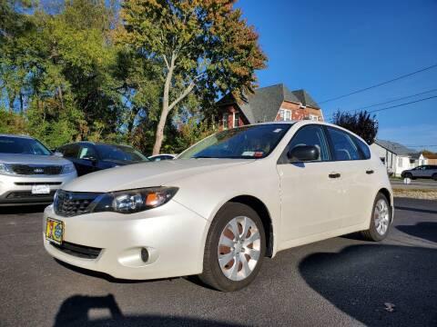 2008 Subaru Impreza for sale at AFFORDABLE IMPORTS in New Hampton NY