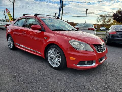 2012 Suzuki Kizashi for sale at AFFORDABLE IMPORTS in New Hampton NY