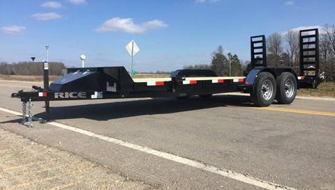 2018 Rice Trailers FMCMR 82X20