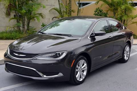 Chrysler 200 For Sale >> 2015 Chrysler 200 For Sale In Miami Fl