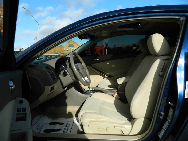2010 Nissan Altima 3 5 Sr 2dr Coupe Cvt In Monroe Wa The Lot