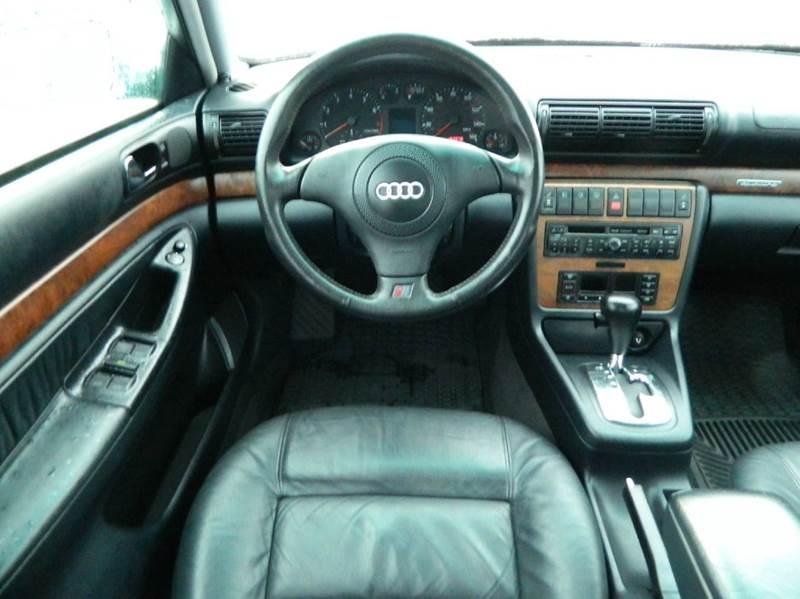 Audi A AWD Dr Quattro Sedan In Monroe WA The Lot - 1998 audi a4