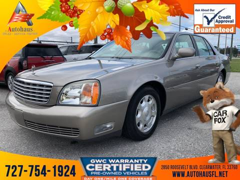 2002 Cadillac DeVille for sale in Clearwater, FL