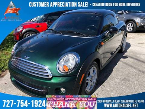 2012 MINI Cooper Coupe for sale in Clearwater, FL