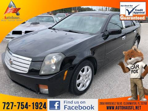 2005 Cadillac CTS for sale at DAS Auto Haus in Clearwater FL